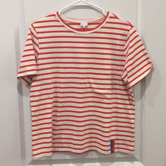 26165d84 KULE Tops | Modern Stripe Cotton Tee | Poshmark